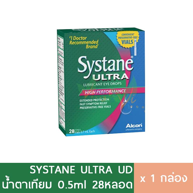 Systane Ultra UD น้ำตาเทียมรายวัน ซิสเทน 28หลอด