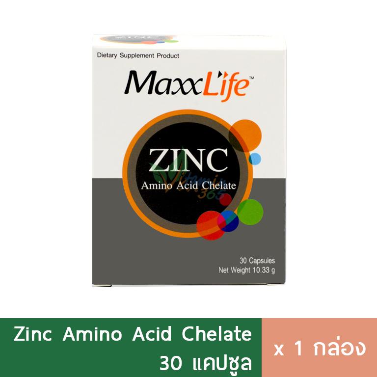 Maxxlife Zinc 15mg 30แคปซูล